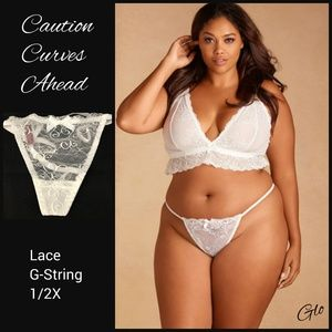 NWOT Hips & Curves Lace G-String